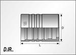 Foto D.IR - M01600 - Vnější a vnitřní ořez pro R15